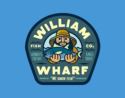 William Wharf: Badge Logo Animation