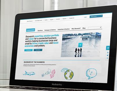 Basware responsive website