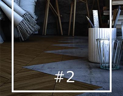#2 Interior 3D Rendering