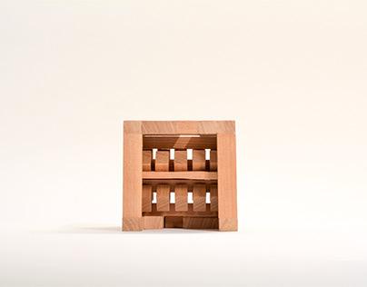 Cube Study - Wood