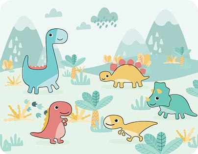 Buba Toys| Jurassic Party Dinosaur Collection