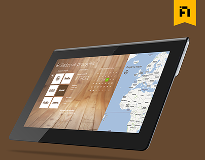 My package, Windows 8 UI mobile application