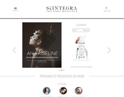 web site design SKINTEGRA