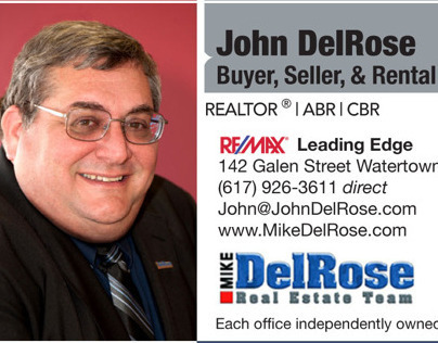Mike DelRose Real Estate Team business cards