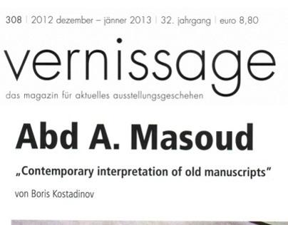 Contemporary interpretation of old manuscripts