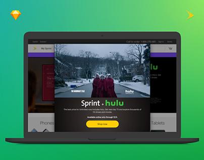 Sprint + Hulu Partnership