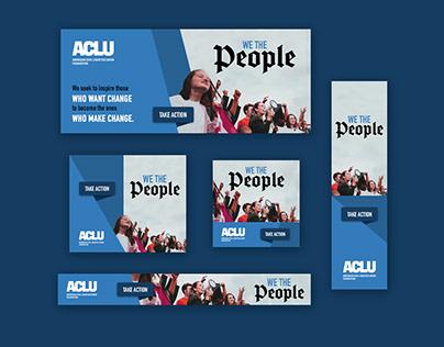 ACLU Web Banner Ads