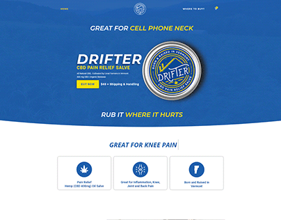 Drifter CBD E-Commerce Website