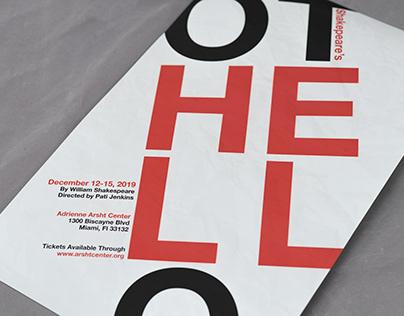 Othello Play Poster