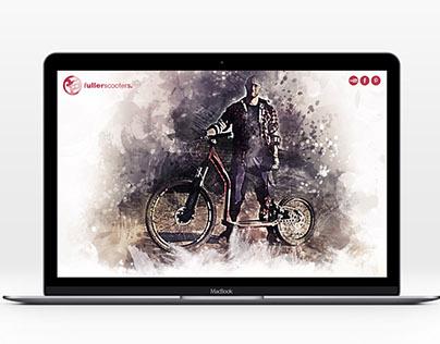 Fullerscooters concept website.