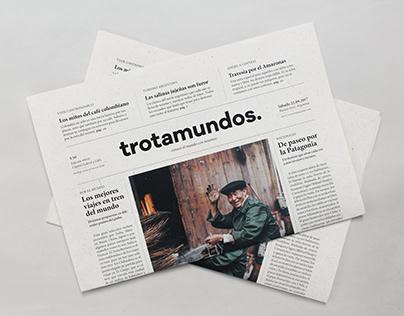 trotamundos. | editorial