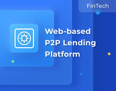 CoinLoan, A P2P Lending Platform | FinTech, UX/UI