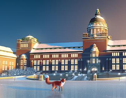 Museum of Natural History - Christmas Calendar 2016