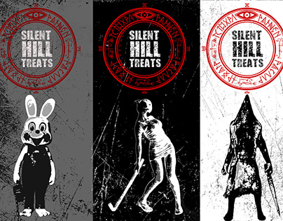 Silent Hill Chocolate Wrappers