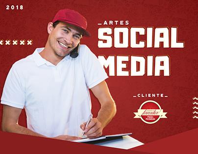 Social media 2018 - Pizzaria da Família