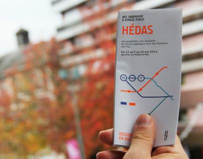 Hédas : Art, graphisme et espace public