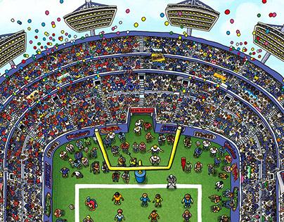 NFL SUPER BOWL XLVII CHALLENGE