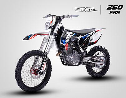 JMC 250FRR graphic design