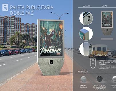 Licitación mobiliario urbano y de playa -Montevideo