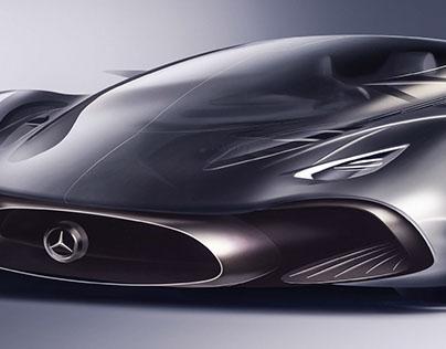 Mercedes Hybrid Supercar Project
