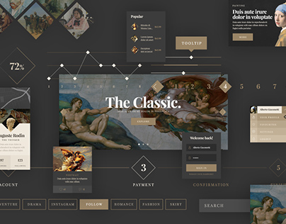 Simple Classic UI Kit
