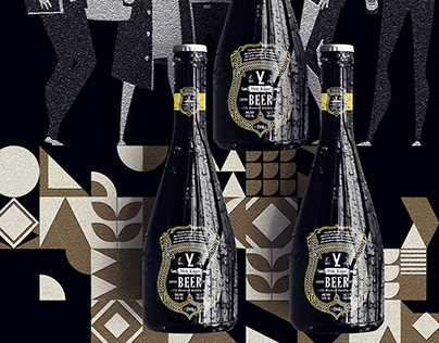Viet lager- Beer Branding