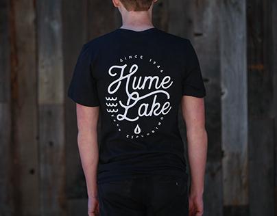 Hume Lake Script Tee