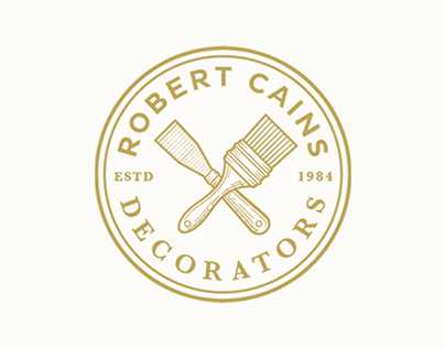 Robert Cains Decorators - Rebrand