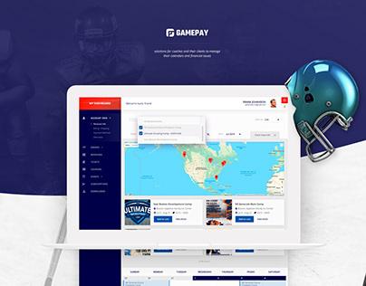 GamePay. Sport events platform.