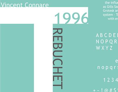 DES 16 Typeface History: Trebuchet MS