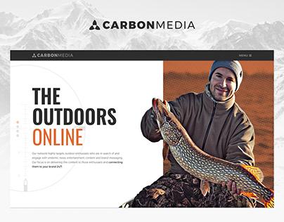 Carbon Media UI Design and Rebrand