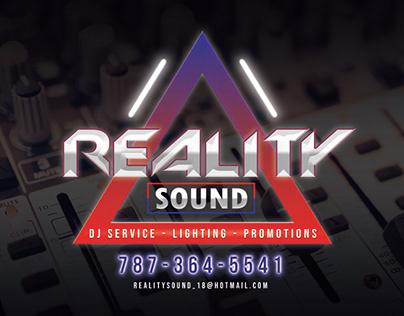 Reality Sound Logo