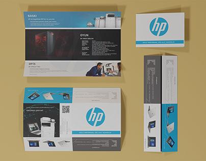 Hp Broşür Tasarımı - Brochure Design