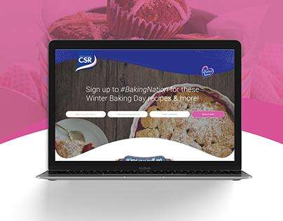 CSR Sugar Australia –Landing Pages