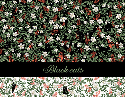 Wallpaper - Black Cats