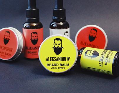 "Beard oil & balm ""Aleksandrov"""