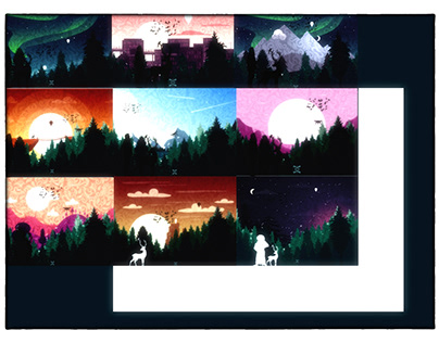 Nights-cape illustration