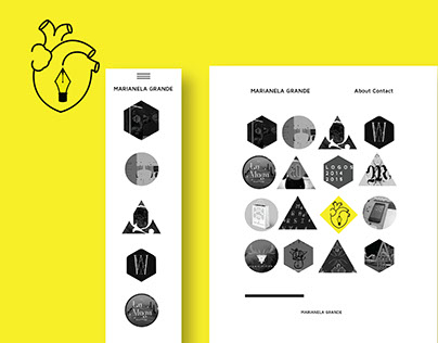M / G Personal Logo & Web Design