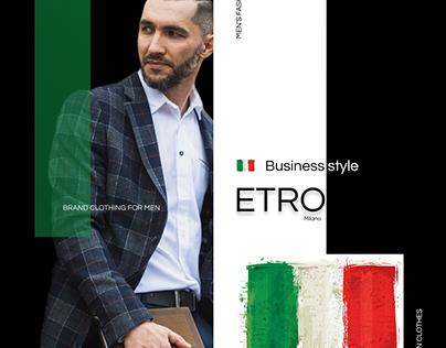 Instagram creative for the Etro Milano brand
