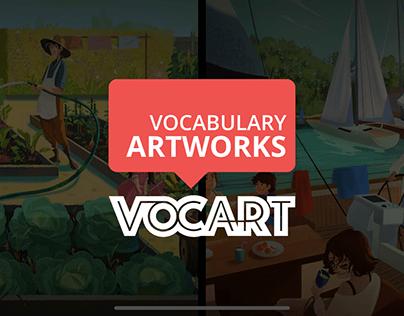 VocArt - Vocabulary Artworks