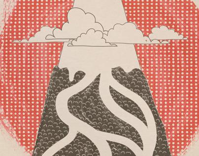 Japan Journals Illustration