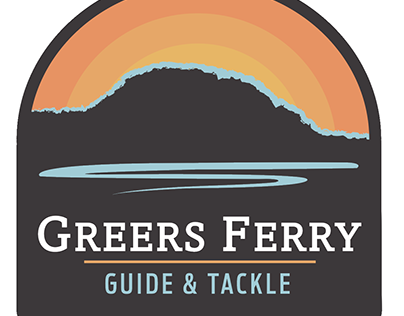 Greers Ferry Logo and Sign