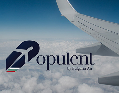 Airline identity Opulent by Bulgaria Air