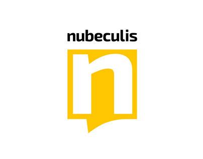 Nubeculis logo & brand identity design