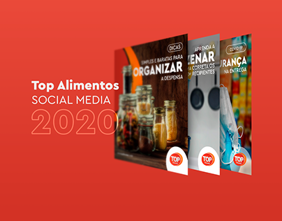 Top Alimentos   Social Media