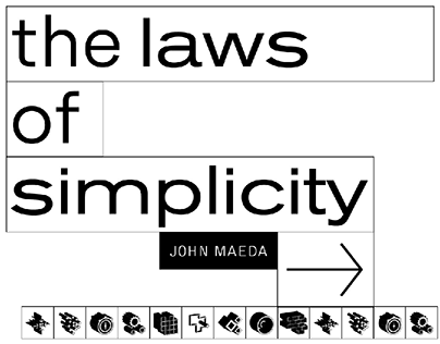 THE LAWS OF SIMPLICITY | typographic experiment