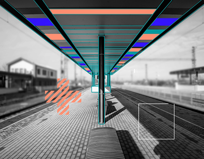 Infographic video of railway line renovation