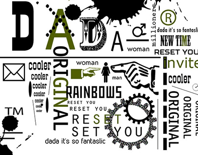 A Series Of Posters - Dada