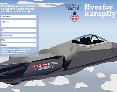 flyer with online news letter link