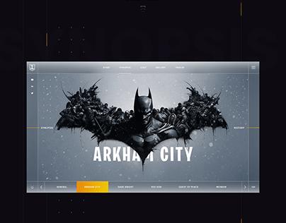 UI Concept For Justice League Ver-2